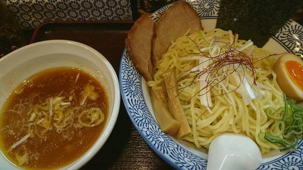 「つけ麺(並)880円」@つけ麺 赤とんぼの写真