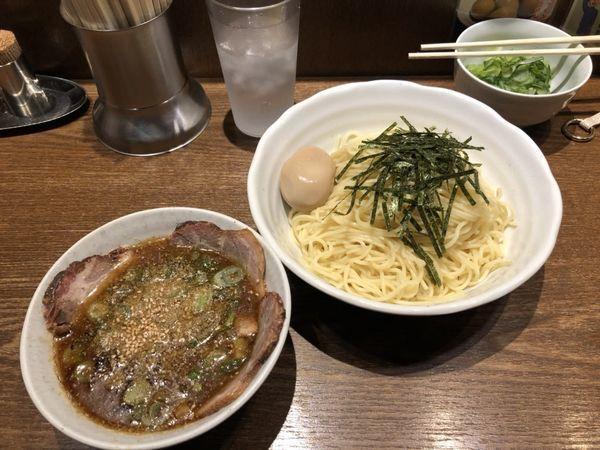 「特製うめやつけ麺中盛り」@中華そば うめやの写真
