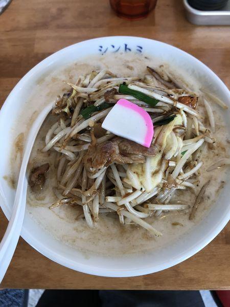 「濃厚タンメン(¥756)」@極濃湯麵シントミの写真