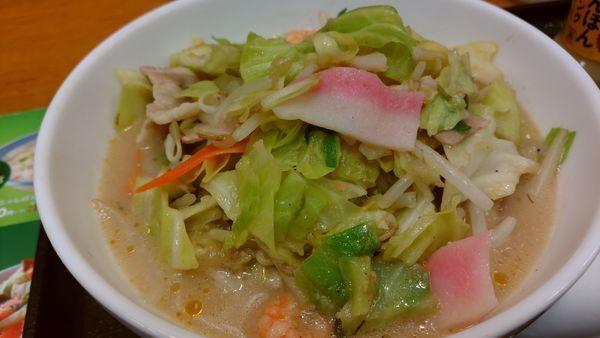 「野菜たっぷり食べるスープ」@長崎ちゃんぽん リンガーハット 赤坂見附店の写真