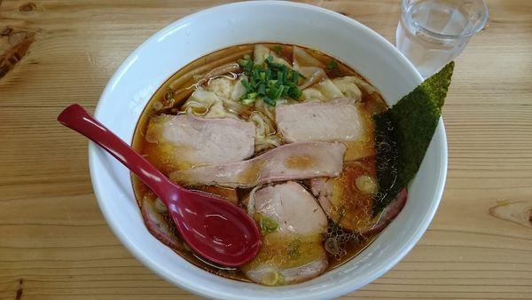「チャーシューワンタン麺1050円」@ドリームロード 道夢の写真