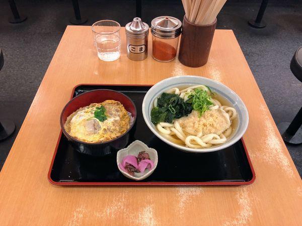 「かつ丼セット」@かのや 新宿西口店の写真