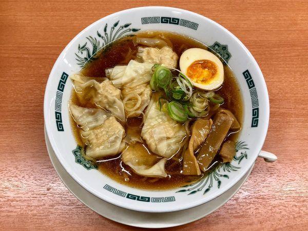 「ワンタン麺」@日高屋 祖師ヶ谷大蔵店の写真