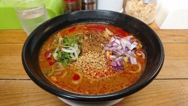 「【期間限定】カレー担々麺」@自家製麺 てんかの写真