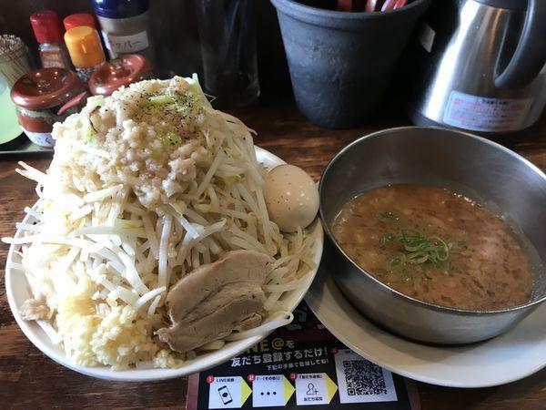 「二郎つけ麺」@つけ麺・ラーメン 五十五番 豊田店の写真