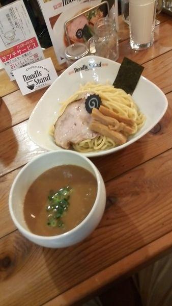 「濃厚サバトンつけ麵(中盛)850円」@裏Noodle Stand Tokyoの写真