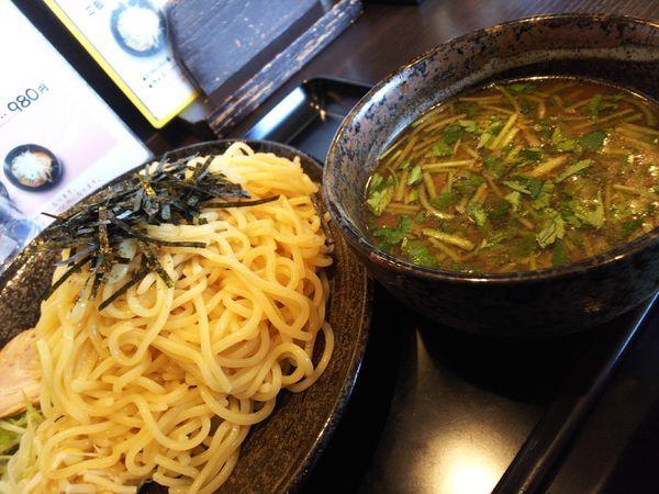 「つけ麺・中930円」@もちもちの木 白石蔵王店の写真