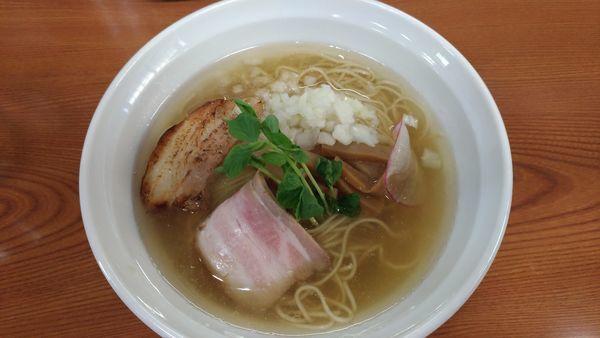 「煮干し中華そば(塩)」@麺匠 なか巌の写真