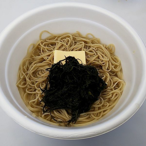 「佳蕎庵×ふ久花コラボ 男のロマン塩出汁 ぶっかけそば」@㐂九八 ~garage~の写真