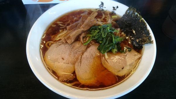 「生姜醤油ラーメン」@らーめん 竜美 与野本町店の写真