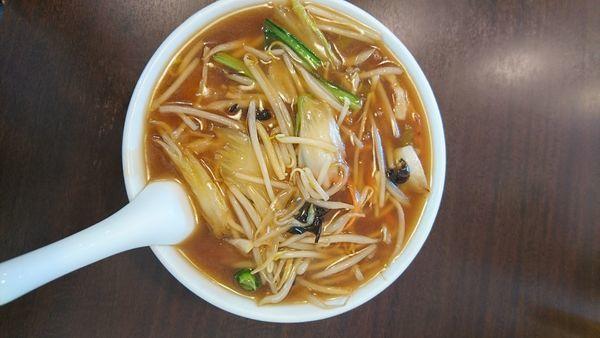 「サンマー麺850円」@野庭飯店の写真