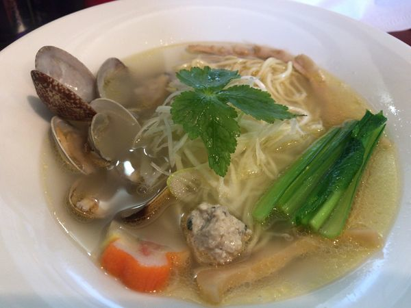 「あら塩拉麺790円」@拉麺 空の写真