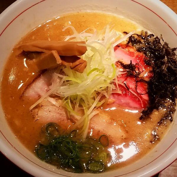 「味噌らぁ麺 850円他」@麺や 虎徹の写真