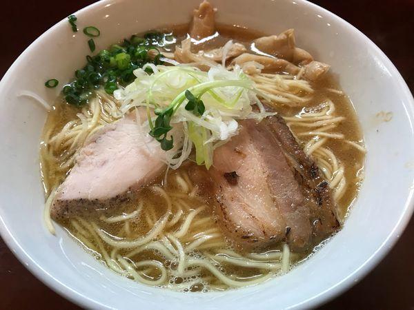 「濃厚醤油鶏そば 大盛  750円」@麺屋くまがいの写真
