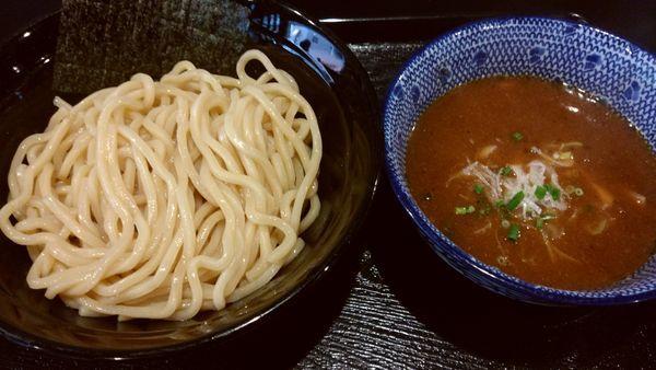 「濃厚魚介つけ麺」@麺屋 中川會 錦糸町店の写真