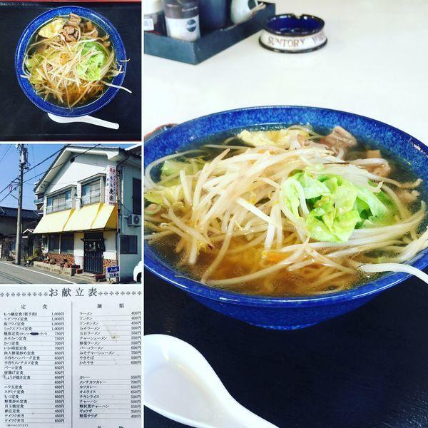 「野菜ラーメン(大盛)」@慶楽の写真