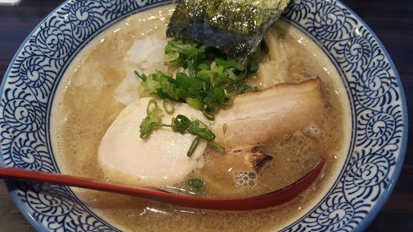 「濃厚煮干し中華そば」@極上煮干し鶏そば やまだ邸の写真
