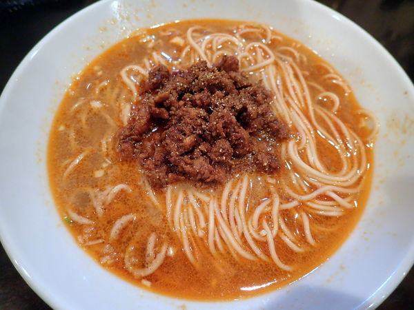 「【気まぐれ限定】担々麺」@人力俥の写真