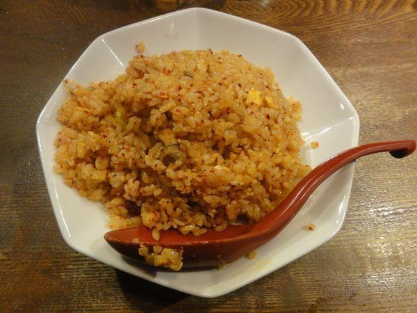 「辛子焼きめし」@麺や 六三六 茶屋町店の写真