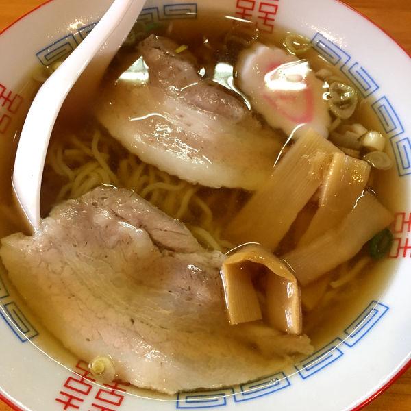 「醤油ラーメン 680円」@里山の食事処 山小屋亭の写真