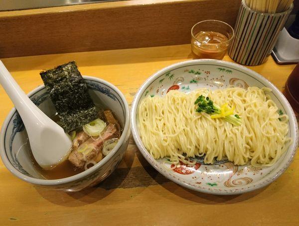 「塩つけ麺 大盛」@らーめん いまるやの写真