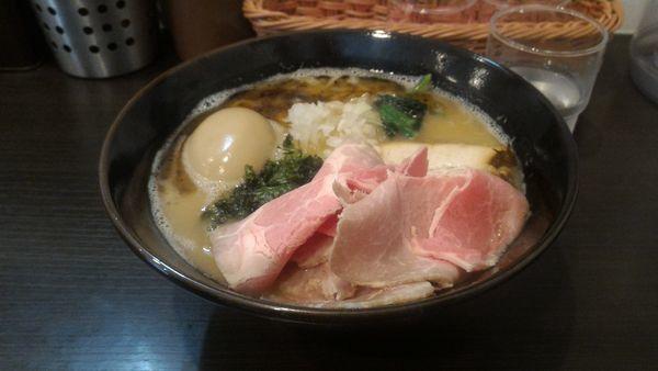 「限定 特製 肉増し」@拉麺 ほそやの写真