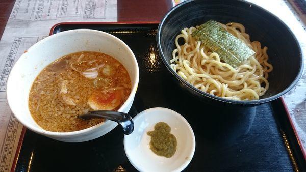 「柚子胡椒つけ麺(並)」@らーめん えん者の写真