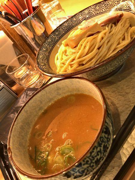 「濃厚つけ麺」@濃厚鶏そば 葵の写真