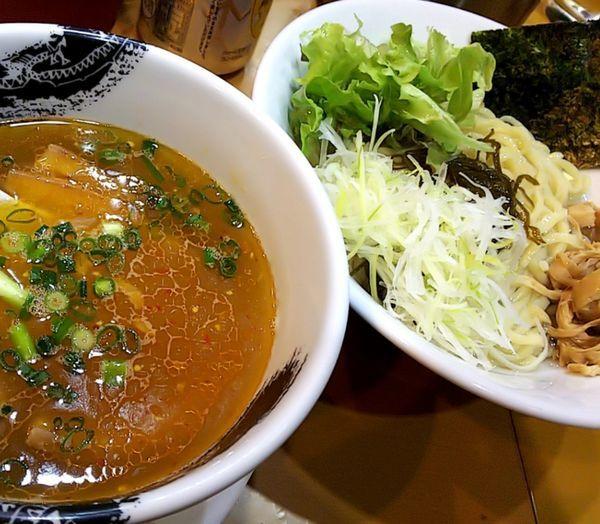「【限定】淡麗塩つけ麺」@麺屋 扇 SENの写真