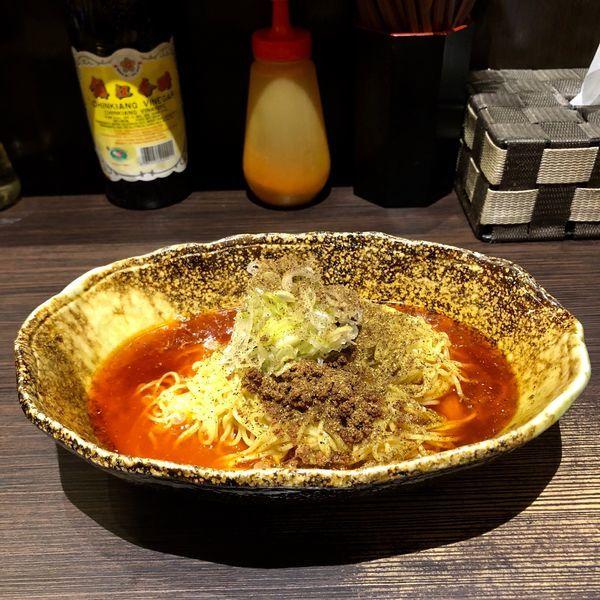 「汁なし担担麺4辛 大盛 (680円)」@中華そば くにまつ 本店の写真