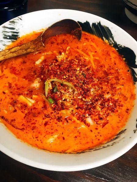 「激辛担々麺」@麺屋Ossanの写真
