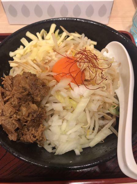 「太麺まぜそば」@麺屋 福籠の写真