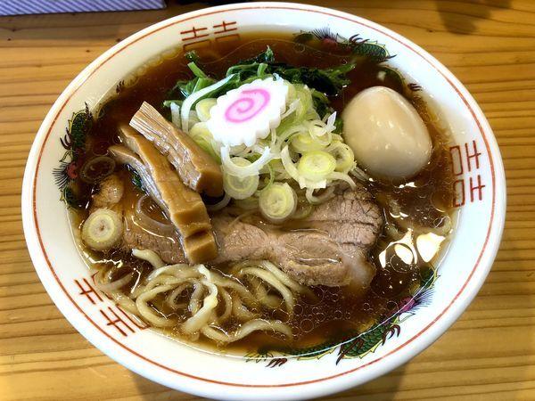 「【限定】味玉中華そば(850円)」@中華蕎麦 みうらの写真