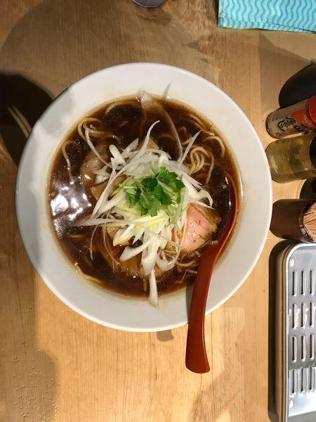 「煮干しそば 800円」@煮干麺 月と鼈の写真