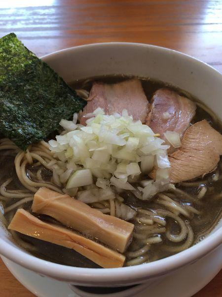 「煮干しそば(中)750円」@煮干そば とみ田の写真