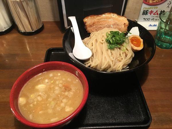 「3月限定 鶏白湯濃厚つけ麺」@麺賊喜三郎の写真