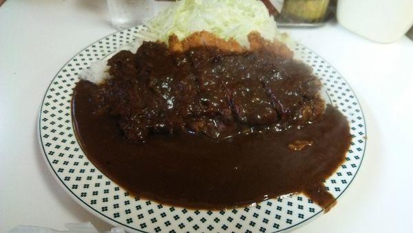 「カツカレーライス 700円」@キッチン南海の写真