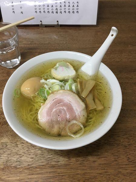 「アッサリ中華そば」@麺屋 響の写真