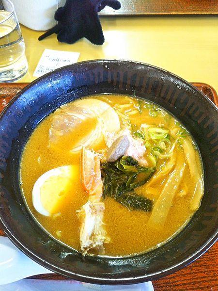 「かに味噌ラーメン 900円」@砂丘会館の写真