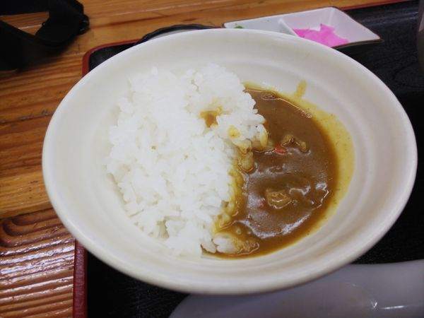 「ランチ100円カレー」@麺工房 幸村の写真