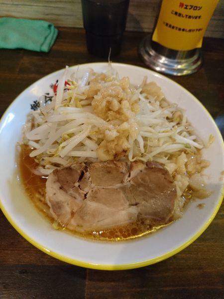「ラーメン 麺200g(760円)」@熊谷肉飯店の写真