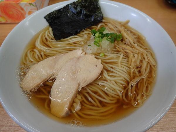 「煮干拉麺あっさり」@麺屋十郎兵衛 盛岡南店の写真