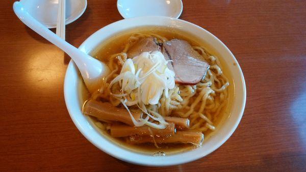 「らーめん+餃子5個」@らーめん餃子専門 一 HAJIMEの写真