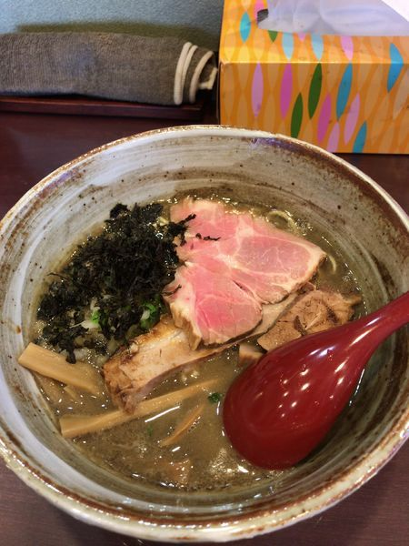 「濃厚煮干しそば醤油」@麺屋 照の坊の写真