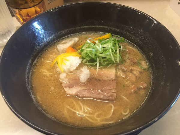 「ご当地味噌おおさか+納豆入り(1200円)」@みつか坊主 醸の写真