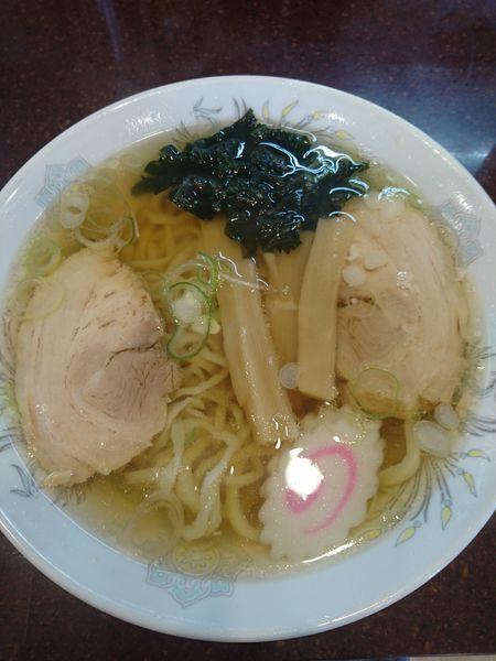 「ラーメン&チャーハンセット 950円 餃子100円」@手打ちラーメン 恒の写真