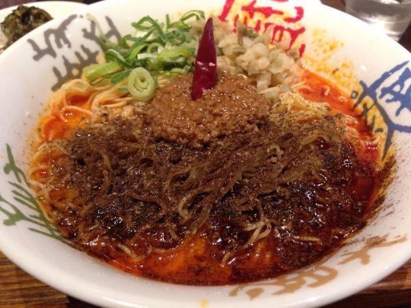 「鬼担々麺」@香家 新代田本店の写真
