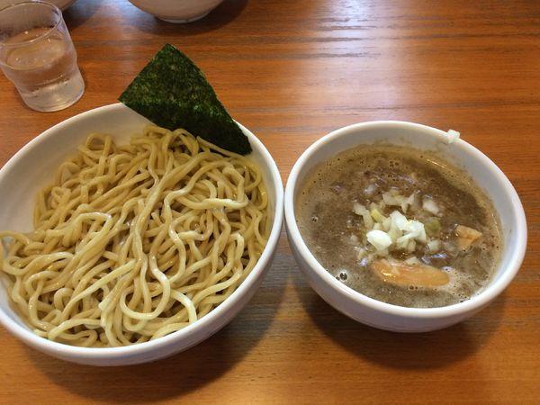 「煮干つけ麺(大)900円」@煮干そば とみ田の写真