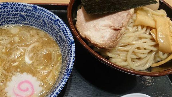「味玉つけ麺(中盛)」@舎鈴 田町駅前店の写真