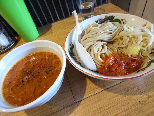 「とまとみそつけ麺&チーズごはん」@カッパ64 福生店の写真